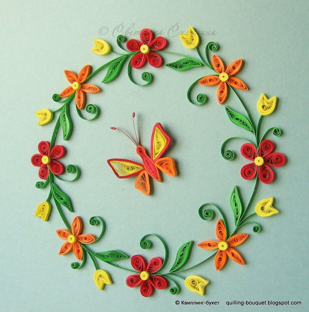 Цветы квиллинг своими руками для начинающих - TA-ivanovo.Ru